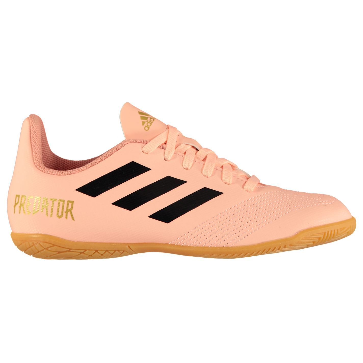 da5f4c950f2 ... adidas Predator Tango 18.4 Indoor Football Trainers Juniors Soccer Shoes