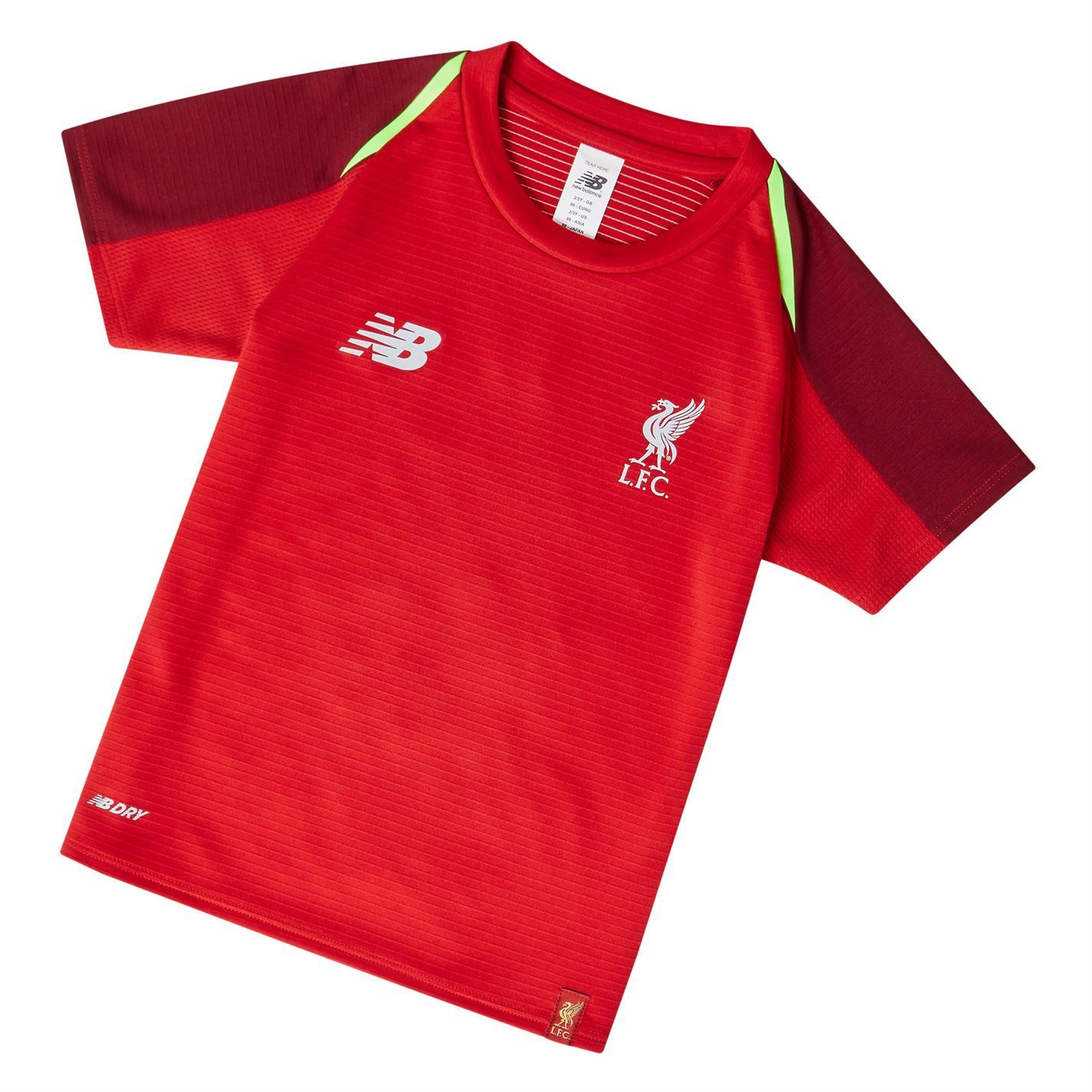 ... New Balance Liverpool Training Jersey 2018-19 Infants Red Football  Soccer Shirt ... 19abc8658