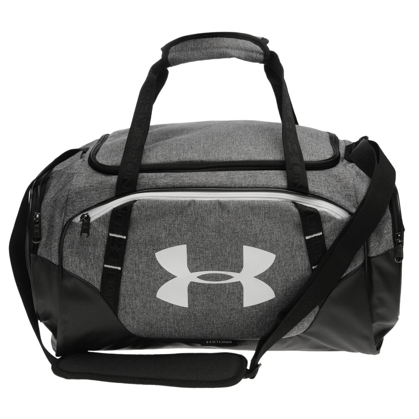 Under Armour Undeniable 3 Duffle Bag Grey Kitbag Gymbag Holdall Carryall df1c2c30a9ab7