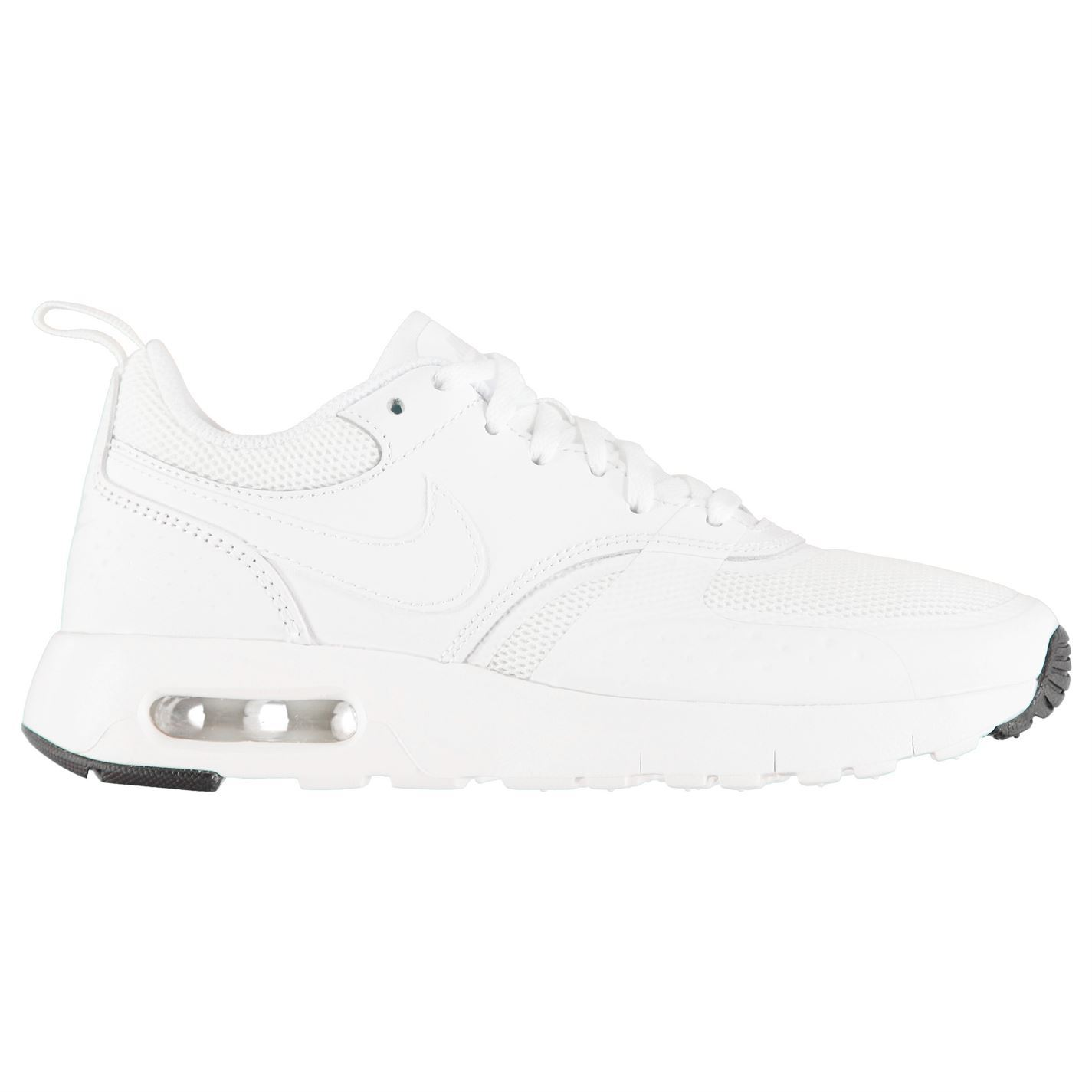 0734bacf ... Nike Air Max Vision Junior Boys White Shoes Footwear ...