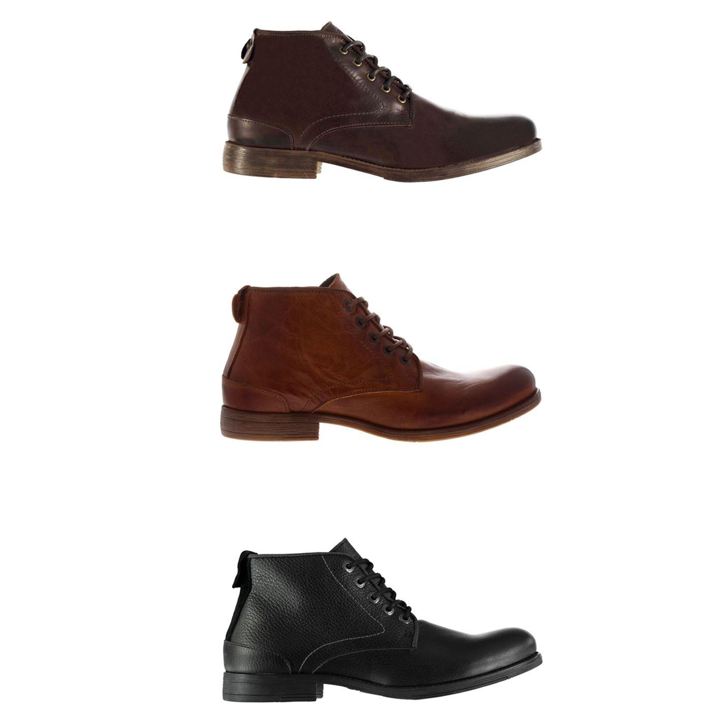 Firetrap Casca Ankle Boots Mens Shoes