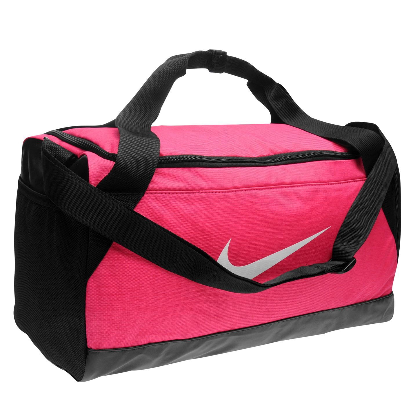 Nike Brasilia Small Grip Sports Holdall Pink Gym Kit Bag Carryall  26720d686c02f