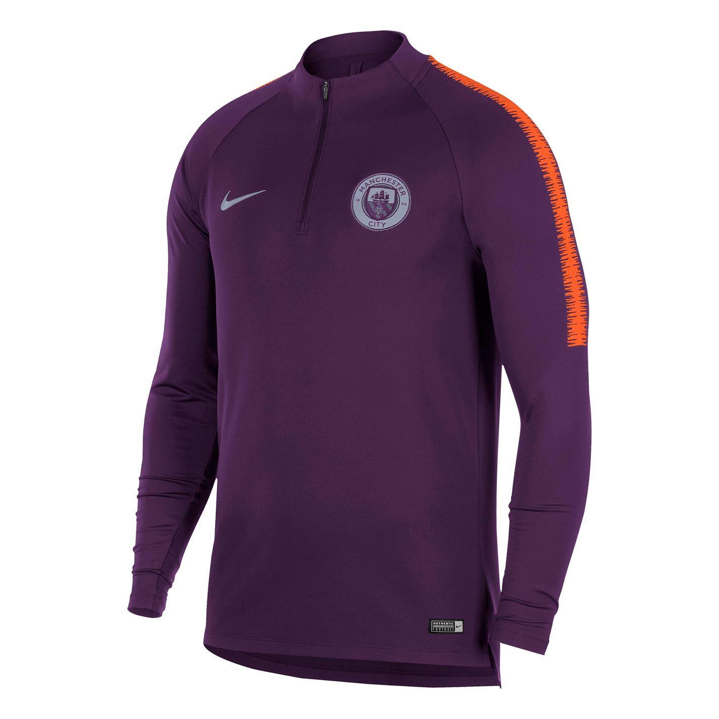 514a89cf562 ... Nike Manchester City Squad Drill Top 2018 2019 Mens Football Soccer  Sweatshirt ...