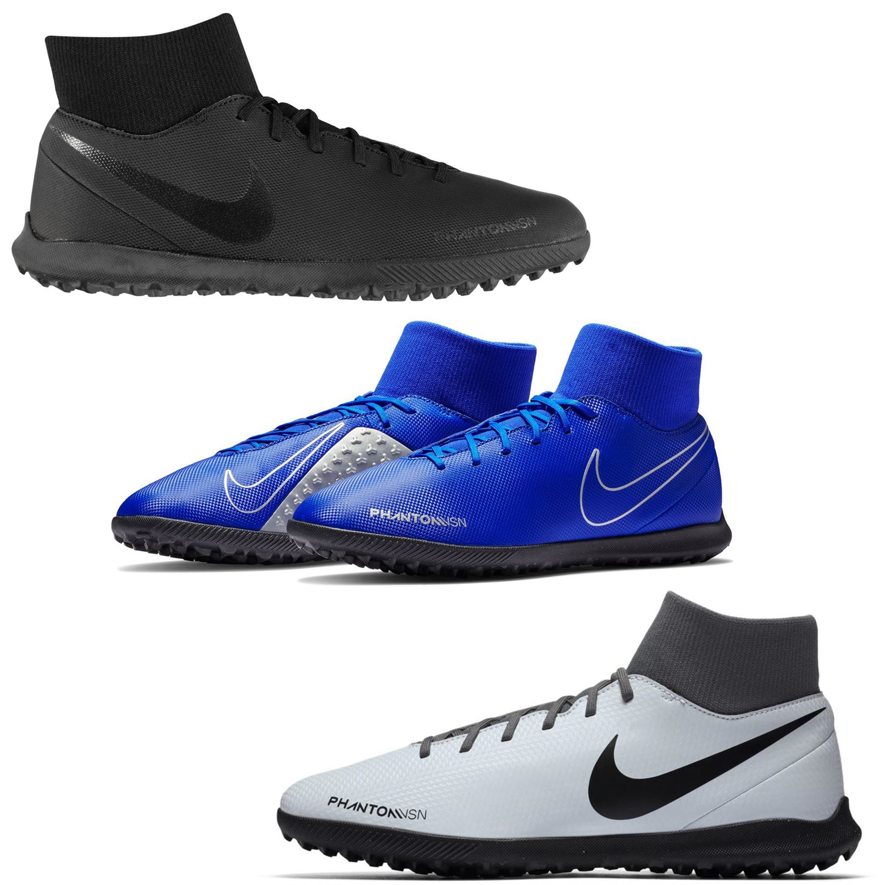 Details about Nike Phantom Vision Club DF Astro Turf Football Trainers Mens Soccer Shoes