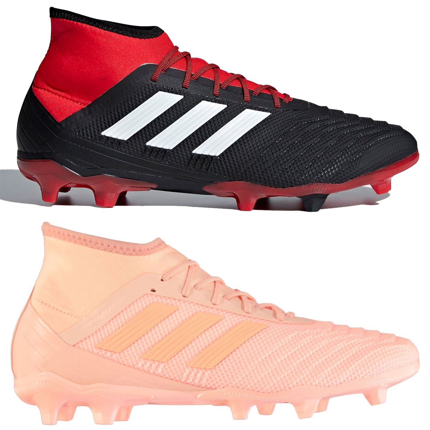 Details about adidas Predator 18.2 FG Firm Ground Football Boots Mens Soccer Shoes Cleats