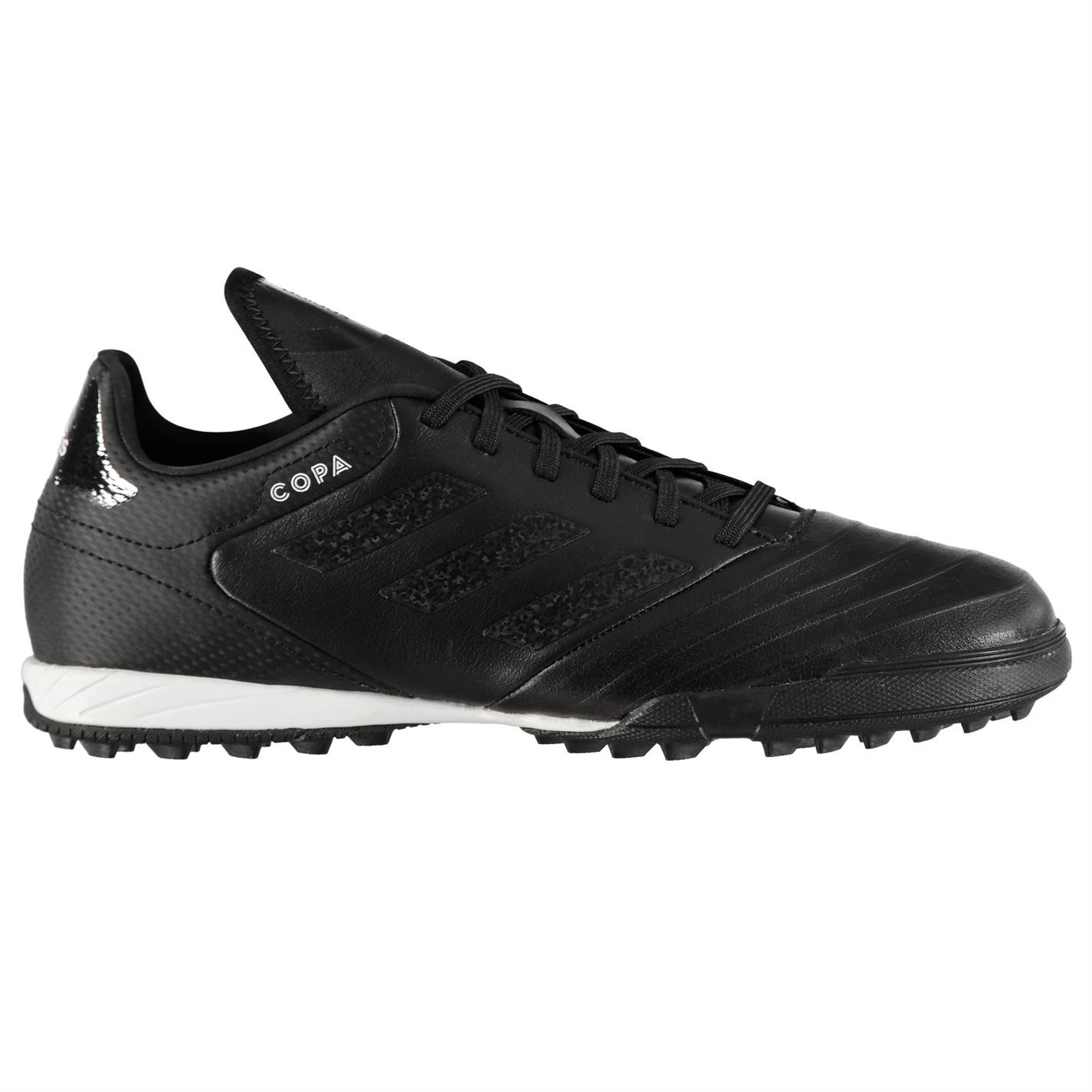 save off 588f4 18fde adidas Copa Tango 18.3 Astro Turf Football Trainers Mens Black Soccer Shoes