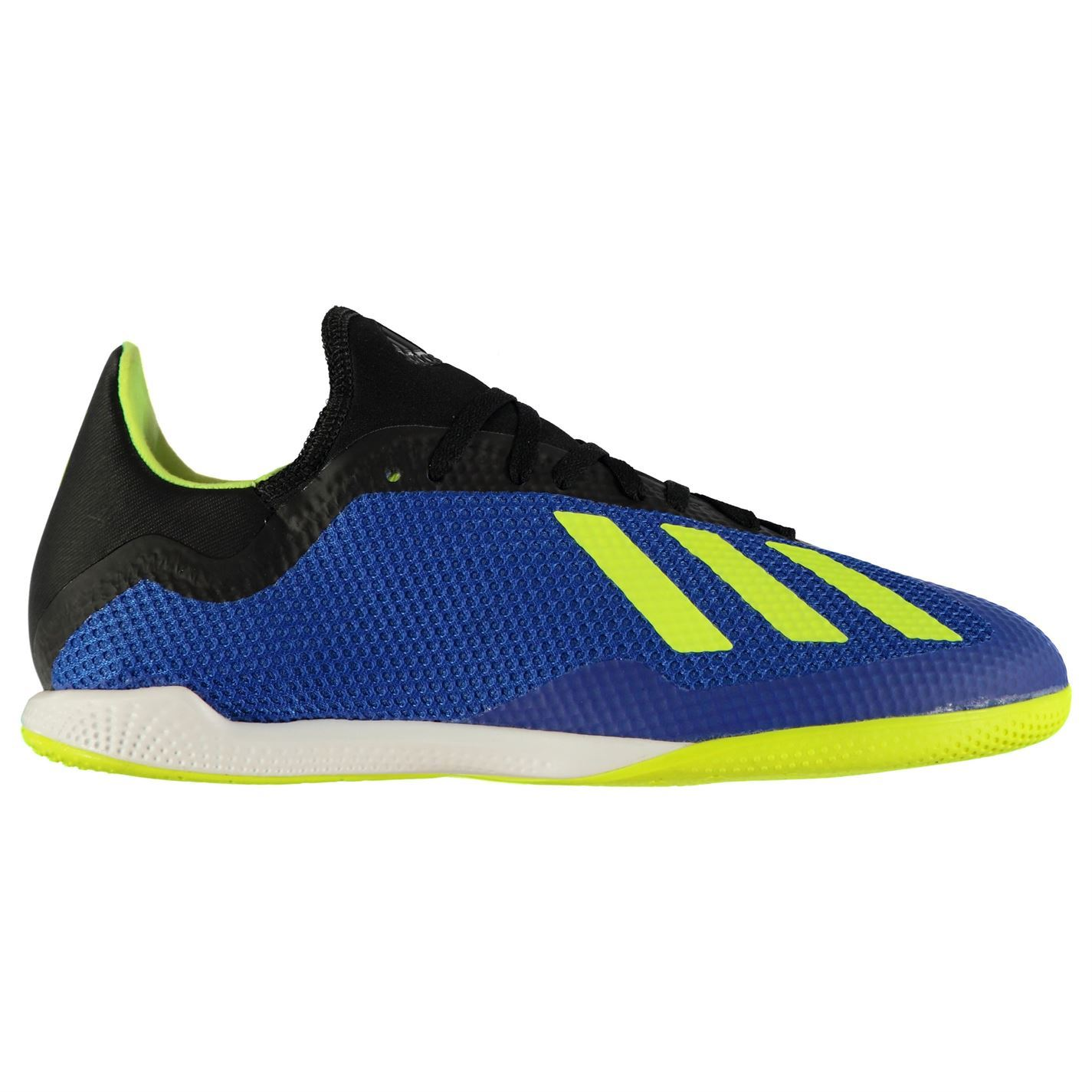 fa5c399c959c ... adidas X Tango 18.3 Indoor Football Trainers Mens Blue/Yellow/Black  Soccer Shoes ...