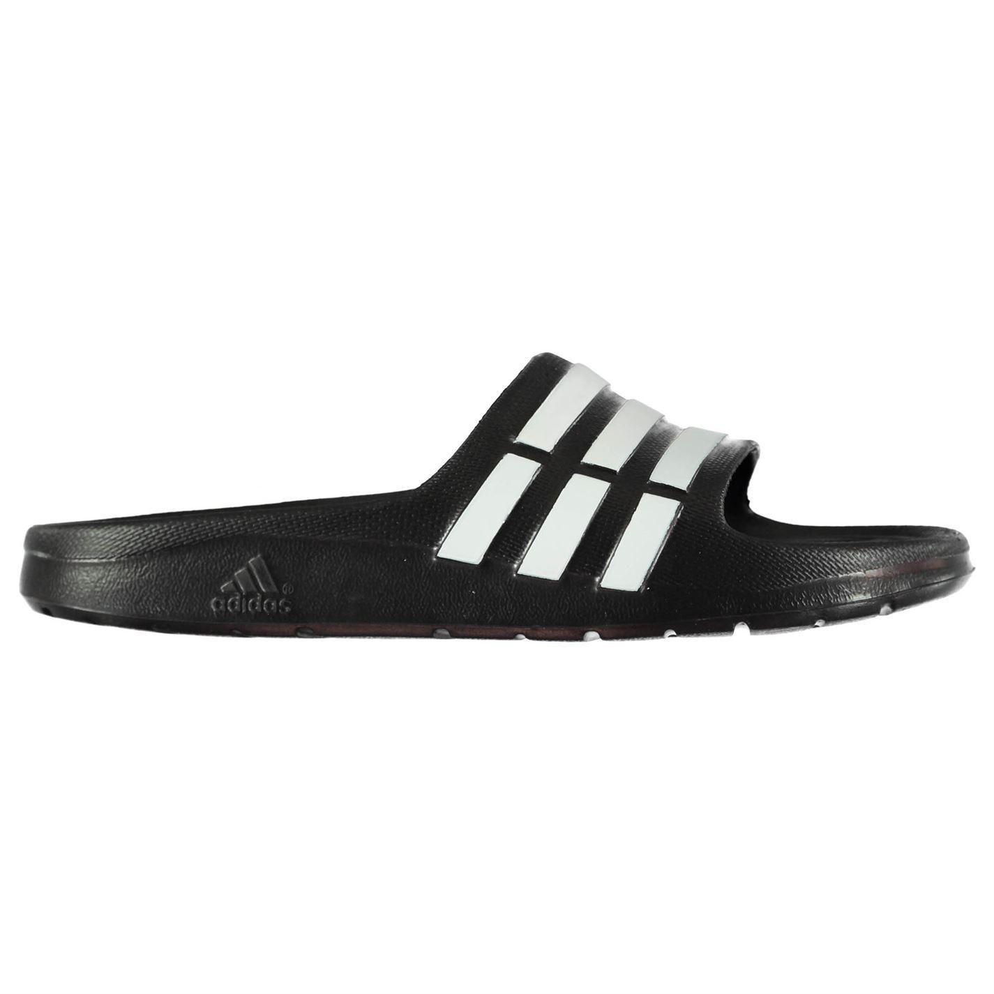 miniatura 3 - ADIDAS-Duramo-Slide-Piscina-Scarpe-Bambino-Ragazzo-Sandali-Infradito-Spiaggia-Scarpe-Thongs