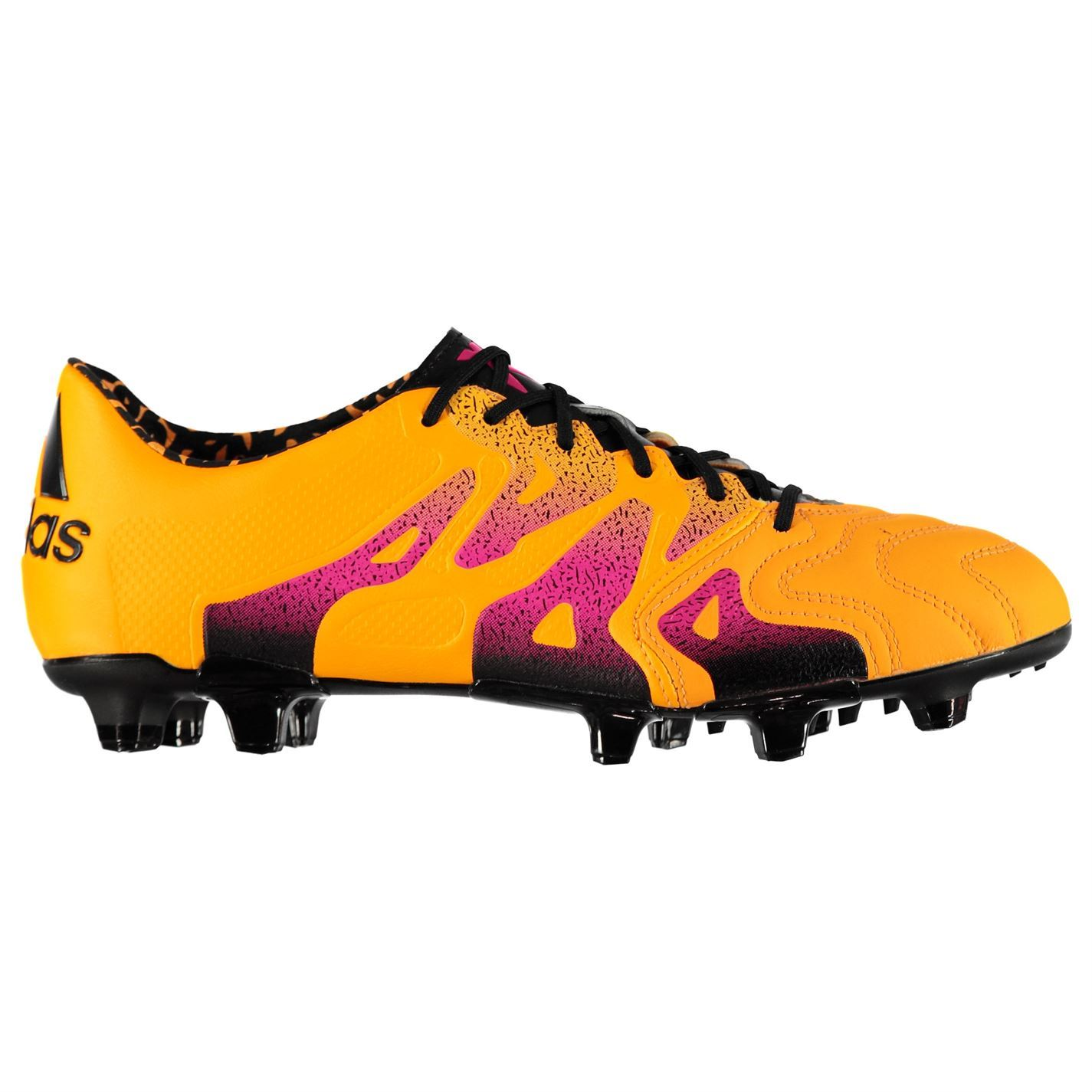 adidas X 15.1 Firm Artificial Ground Leather Football Boots Mens ... d483fa8578d
