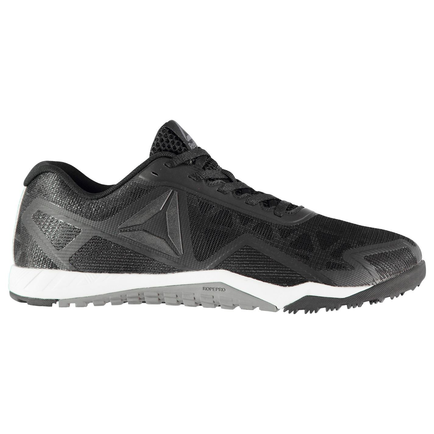 3bc50539814 Details about Reebok Workout 2.0 Training Shoes Mens Black Fitness Workout  Trainers Sneakers