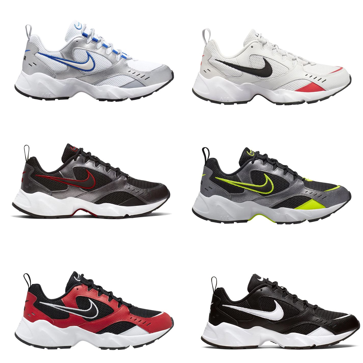Details about Nike Air Heights Trainers Mens Running Atlheisure Footwear  Laced Shoes Sneakers