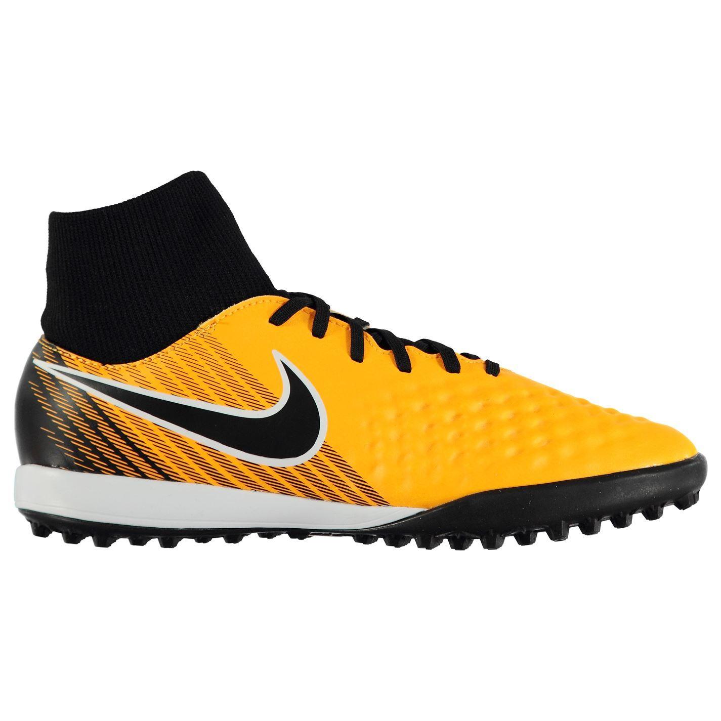 8f65cfb4d14c ... Nike Magista Onda DF Astro Turf Football Trainers Mens Orange Black  Soccer Shoes ...