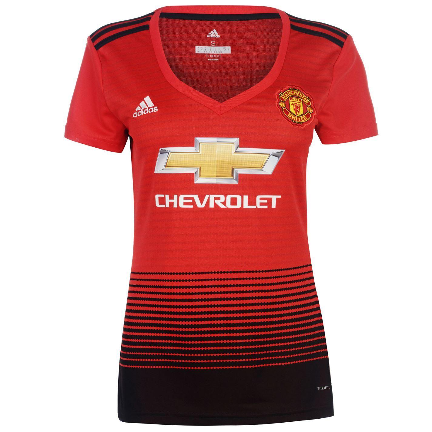 f8e04a15226 adidas Manchester United Home Jersey 2018-19 Womens Red Football Soccer  Shirt