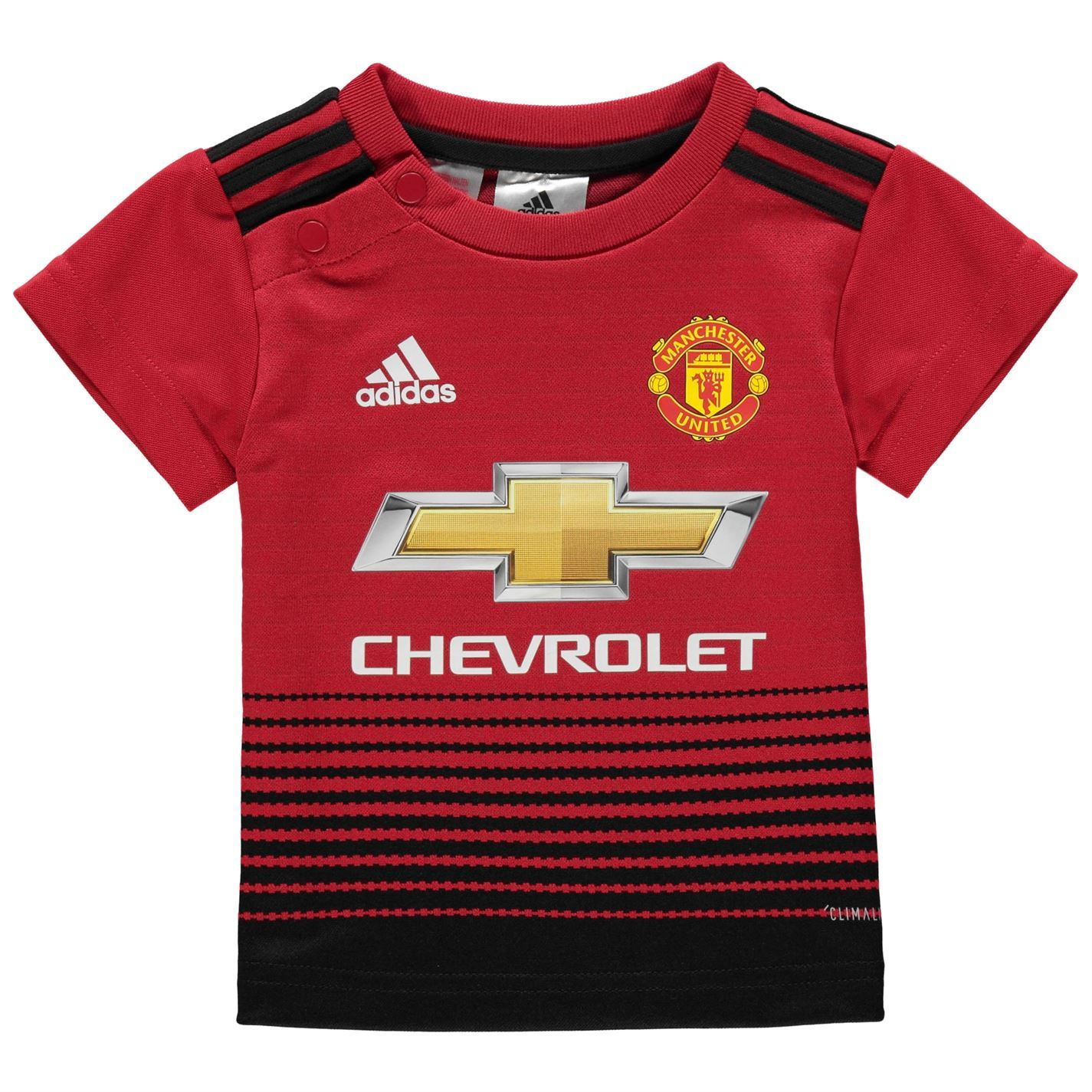 4a9145ffa adidas Manchester United Home Baby Kit 2018 19 Infants Red Football Soccer  Strip