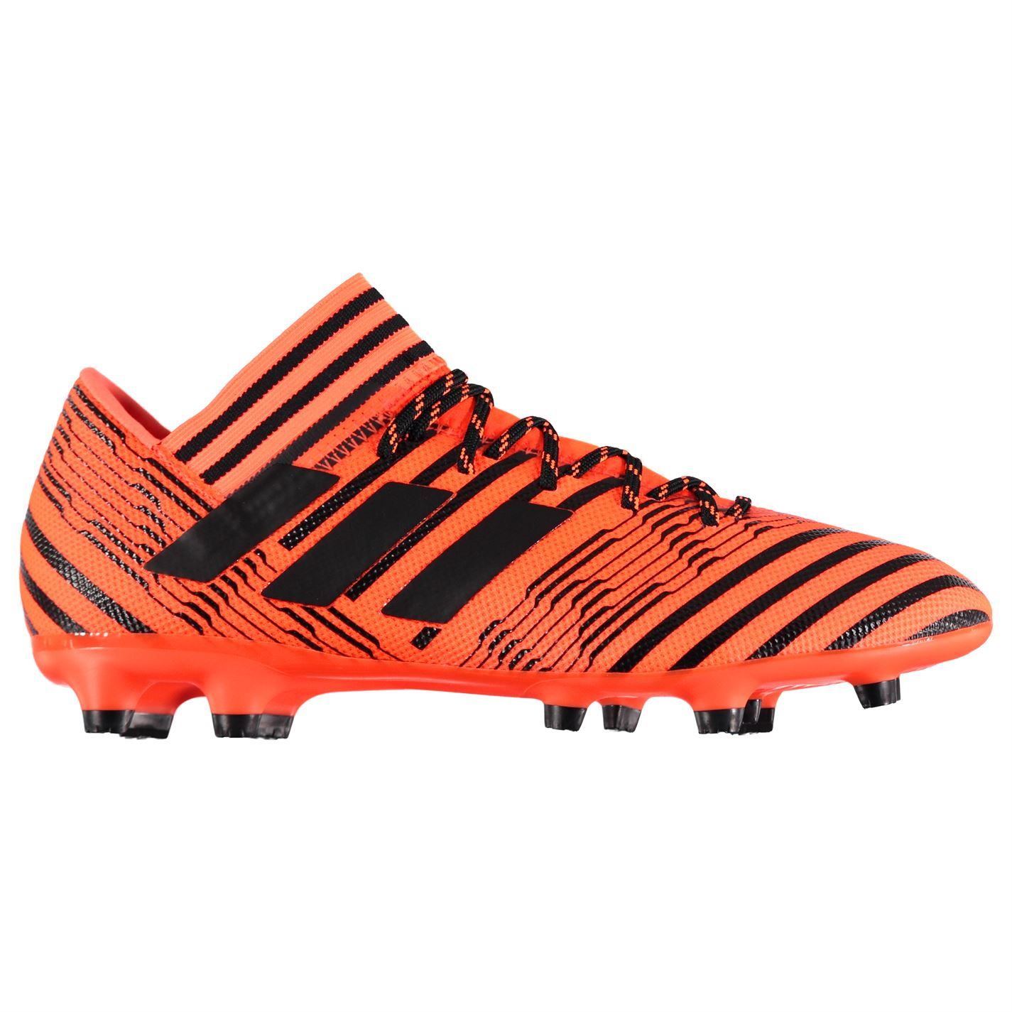 faca9c8b5c04 ... adidas Nemeziz 17.3 Firm Ground Football Boots Mens Orange Black Soccer  Cleats ...