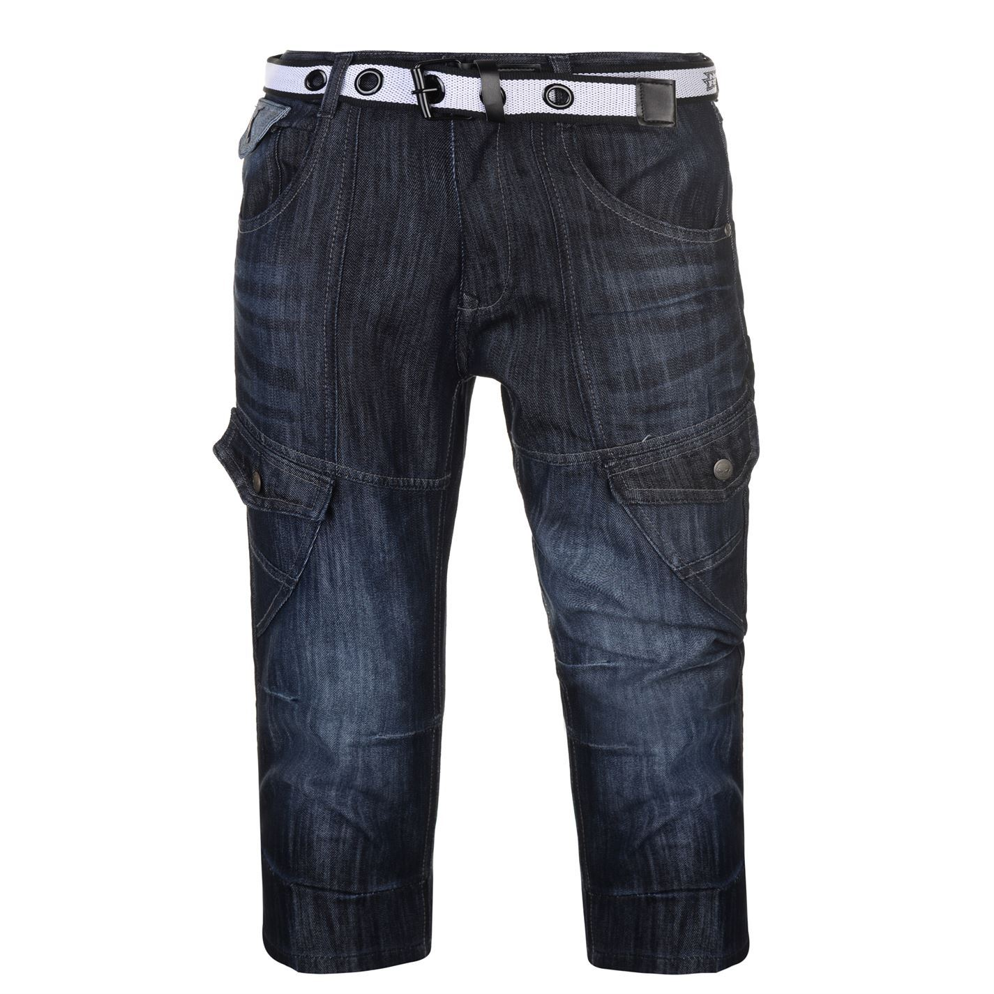 No-Fear-Belted-Cargo-Shorts-Mens-Bottoms-Short-Pants-Summerwear thumbnail 5