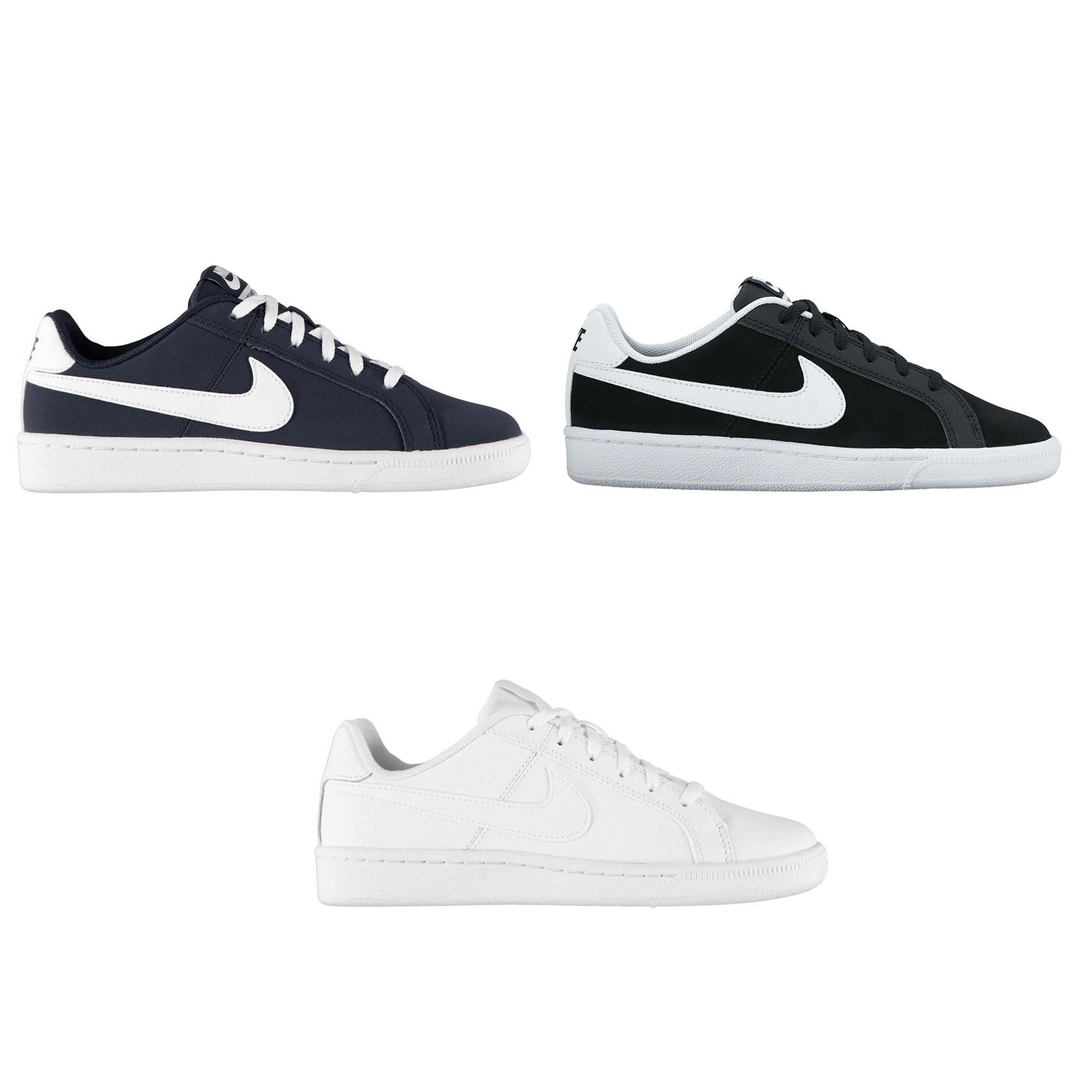 Details about Nike Court Royale Junior Boys Trainers Shoes Footwear