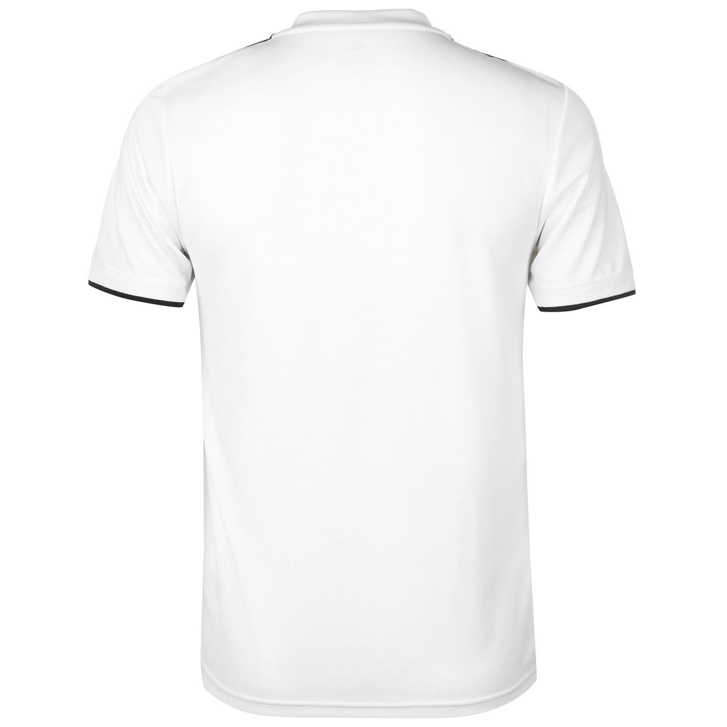 6008b9c01 ... adidas Real Madrid Home Jersey 2018-19 Mens White Football Soccer Shirt  Top