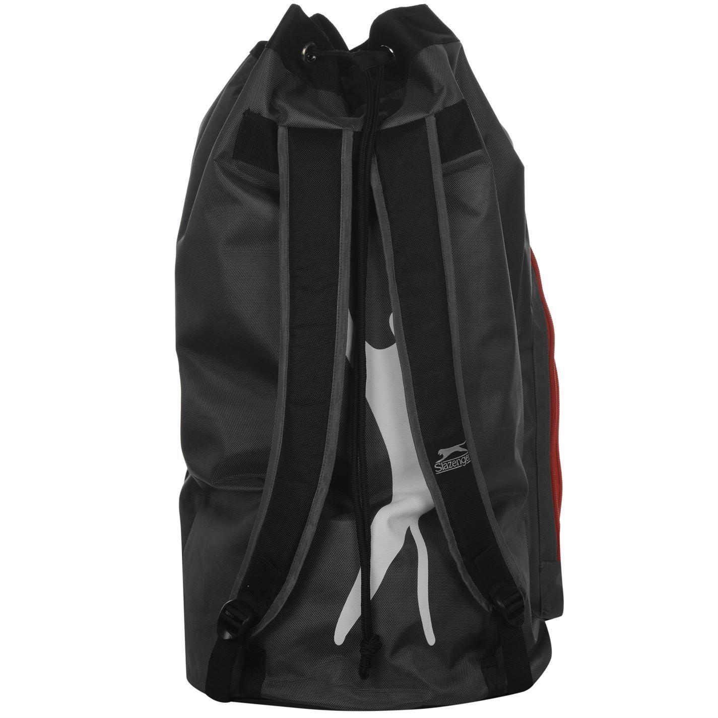 513338f905 ... Slazenger V-Series Cricket Duffle Bag Charcoal Duffel Sport Kit Holdall  Carryall