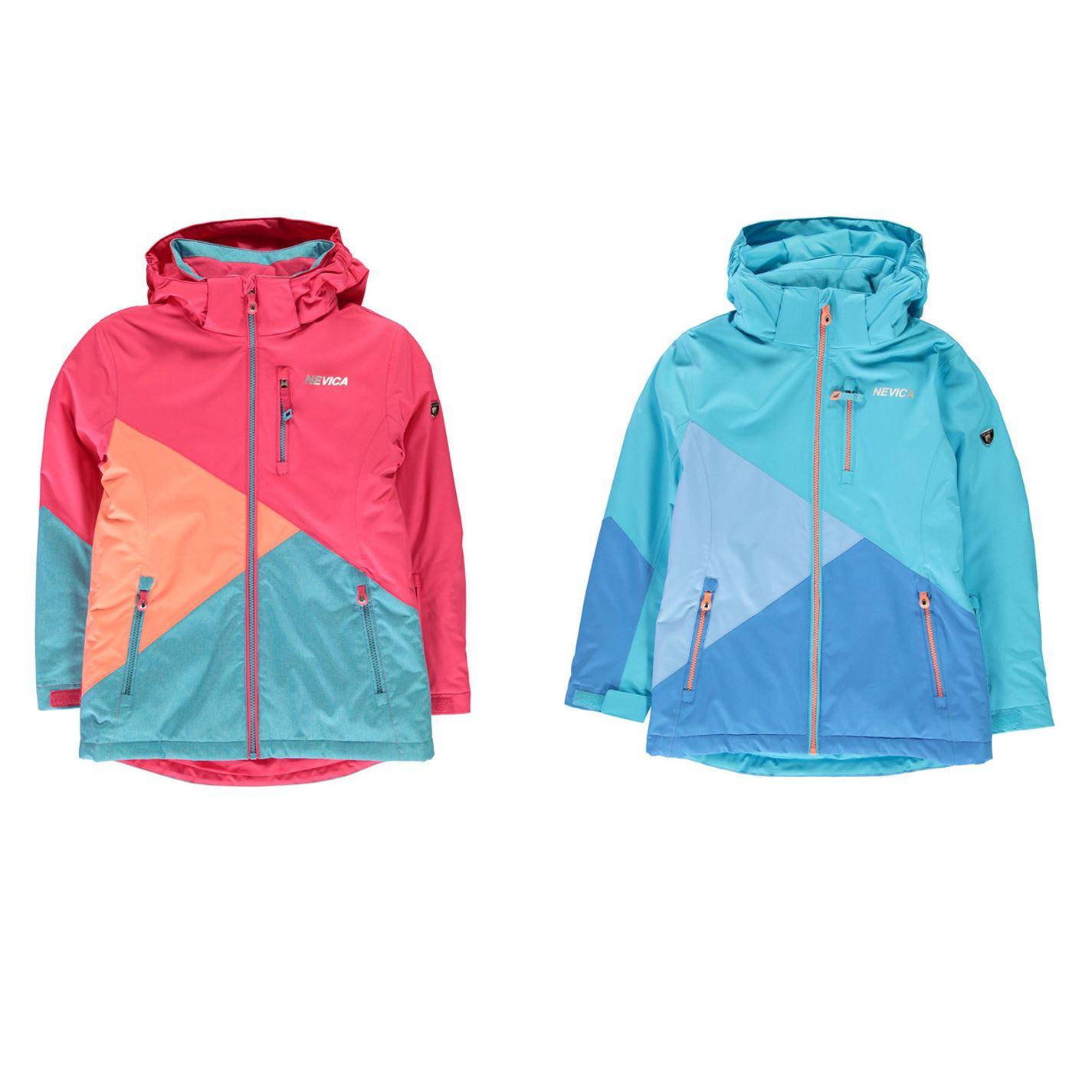 479e8d4c5 Nevica Meribel Ski Jacket Junior Girls Snow Coat Skiing Outerwear
