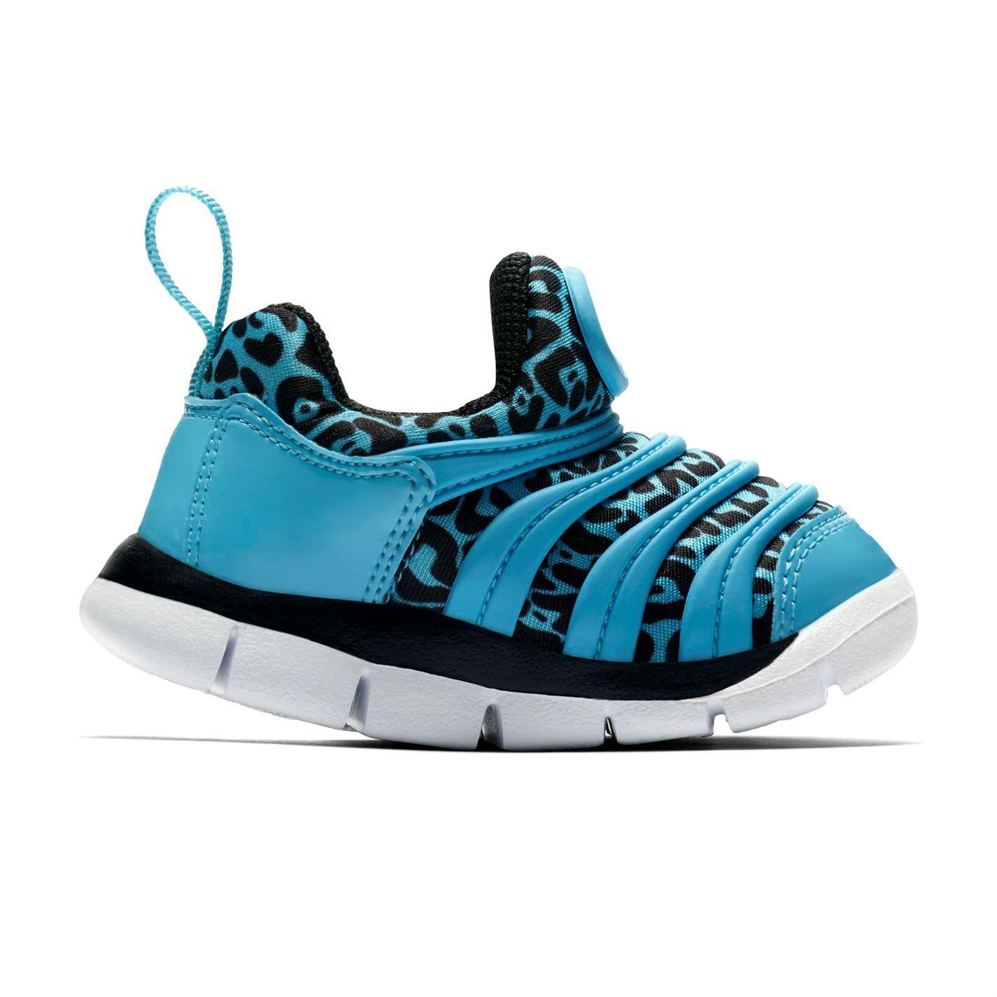 e0c7dd101085cf ... Nike Dynamo Free Shoes Infants Girls Blue Black Trainers Footwear ...