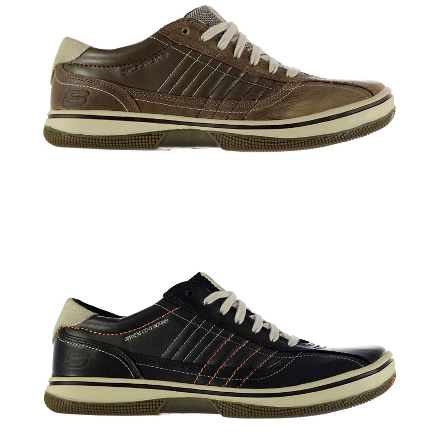 timeless design 25284 eeaba ... Skechers Piers Sport Trainers Mens Athleisure Footwear Shoes Sneakers  ...