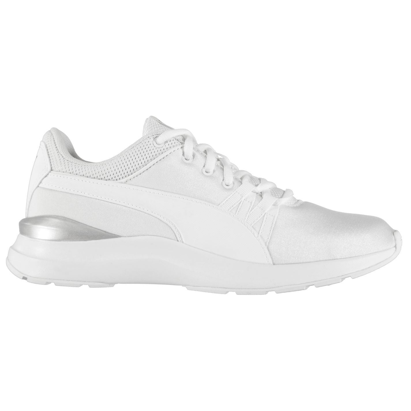 zapatos blancos mujer puma