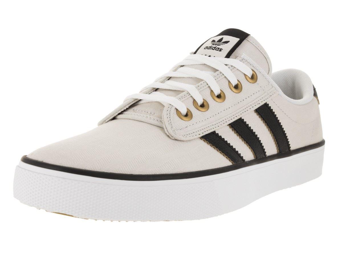 ... adidas Original Kiel Skate Shoes Mens Talc Brown Skatboarding Trainers  Sneakers ... 8931e3836ef08