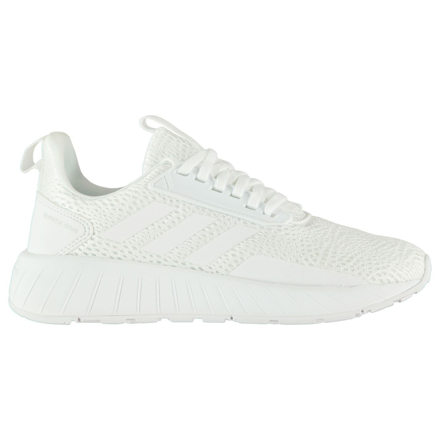 super popular 3f6c8 9f2aa ... adidas Questar Drive Running Shoes Womens White Run Jogging Trainers  Sneakers ...