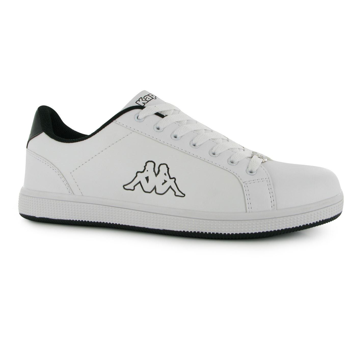 Kappa Maresas 2 Trainers Mens White/Black Sports Shoes ...