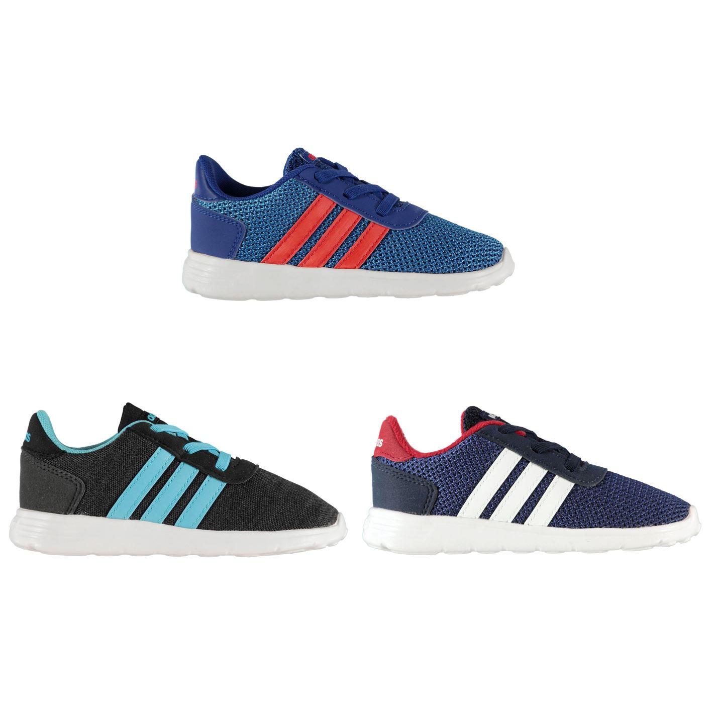 pretty nice 139b0 54a33 ... Adidas Lite Racer formatori neonato bambino scarpe scarpe ...