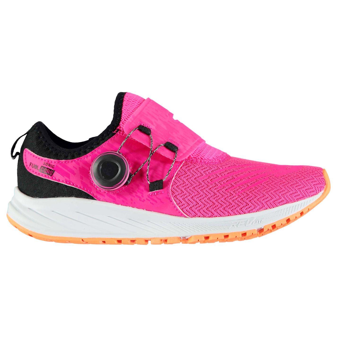 Détails sur New Balance Sonic Fuelcore Chaussures Course Femme Rose Fitness