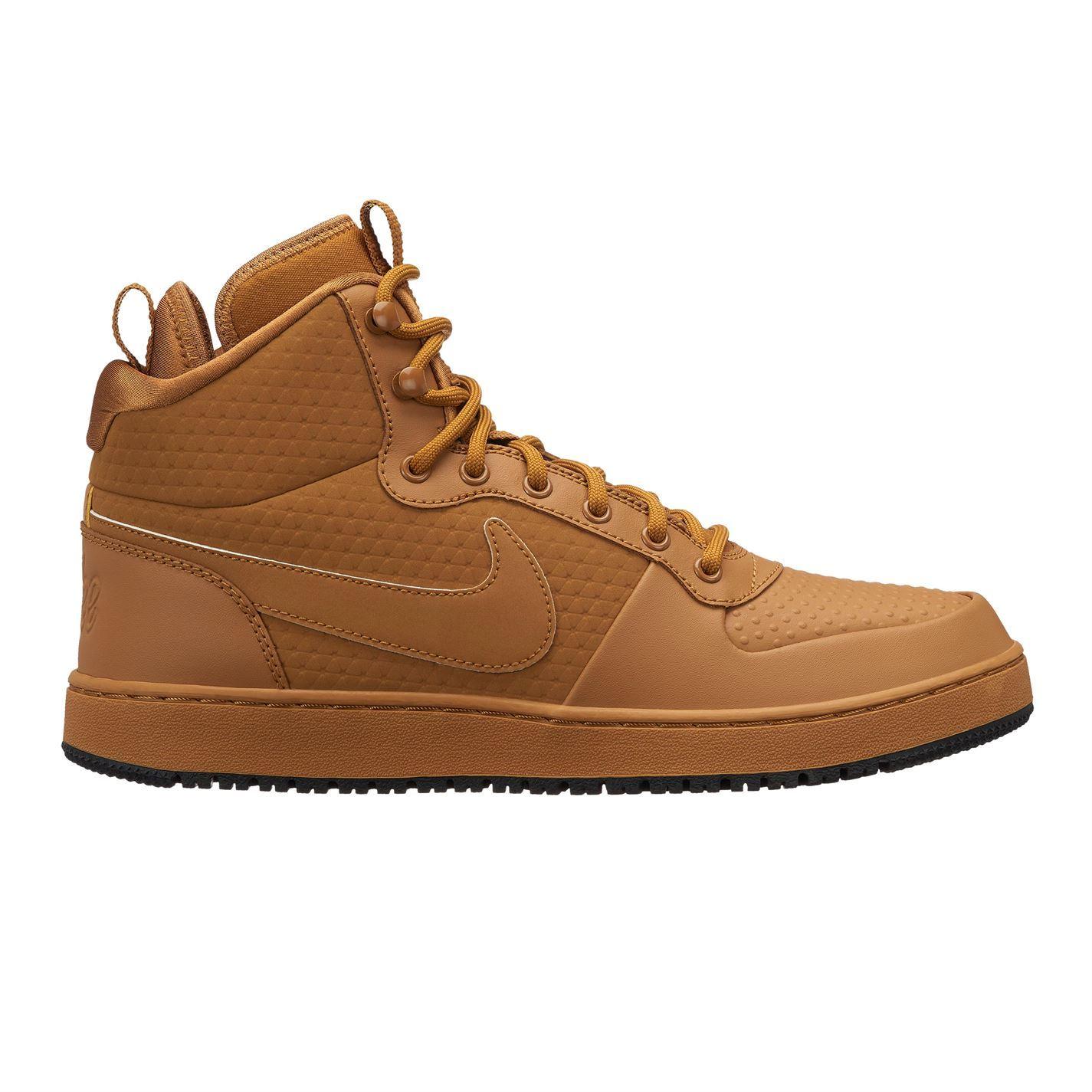 check-out cd2cb 80ca9 Détails sur Nike Ebernon mi Hiver Baskets Hommes Décontracté Chaussures  Chaussures Baskets