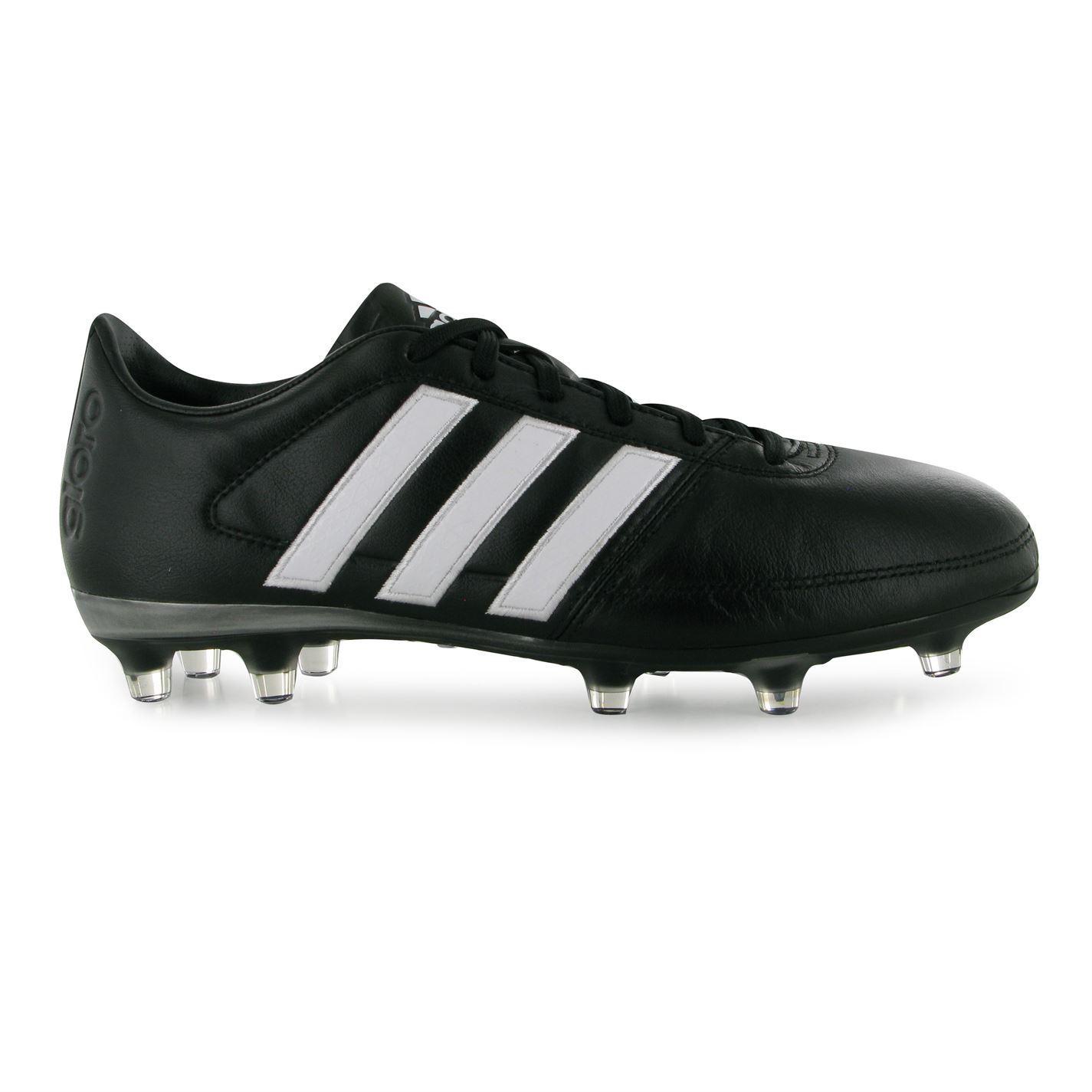 a6cd0d3724d4 ... Adidas Gloro 16.1 FG Firm Ground Football Boots Mens Black White Soccer  Cleats ...