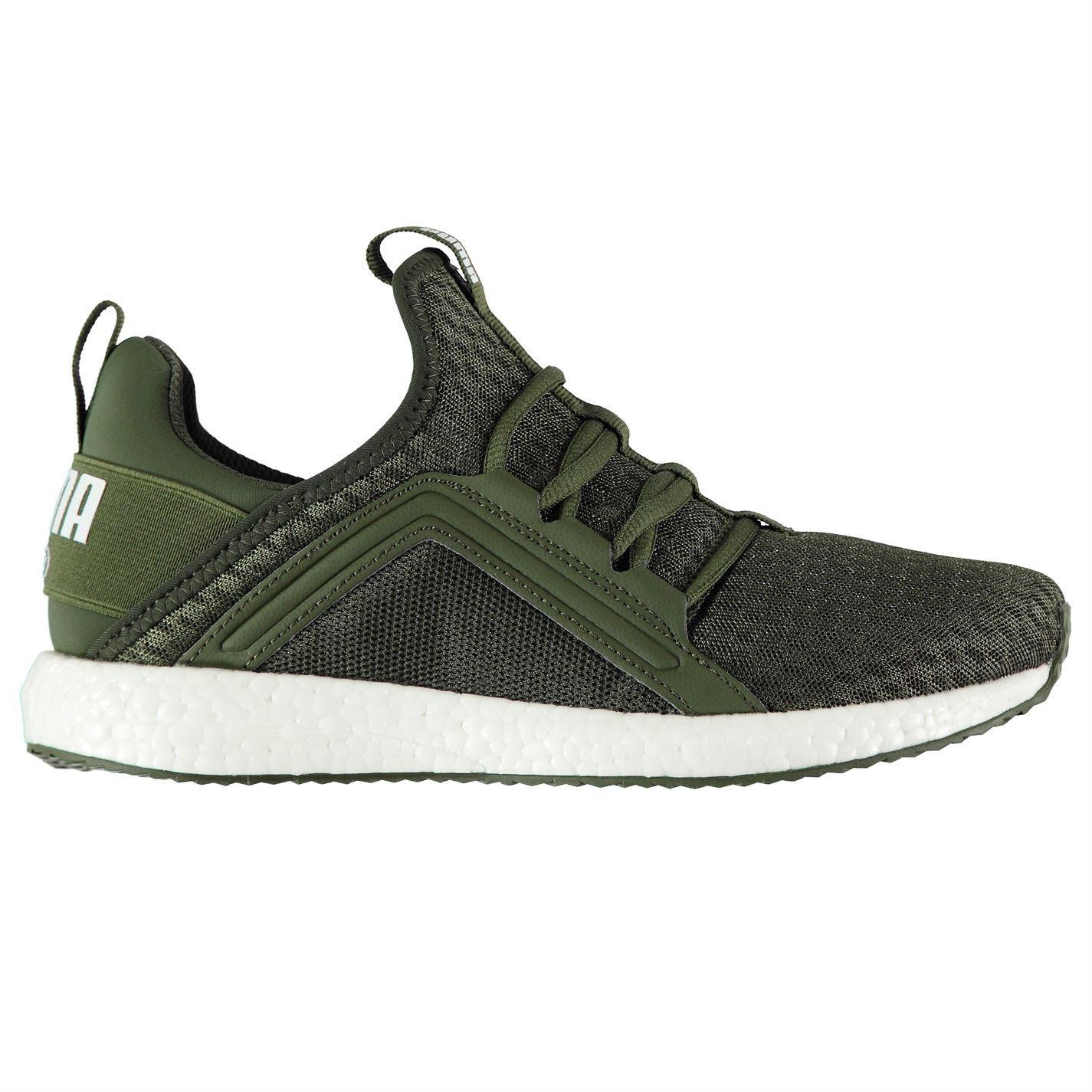 342644883bd902 ... Puma Mega NRGY Running Shoes Womens Green Run Jogging Trainers Sneakers  ...