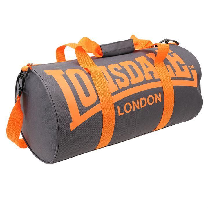 LONSDALE London Barrel Bag Holdall Kitbag Gym Sports