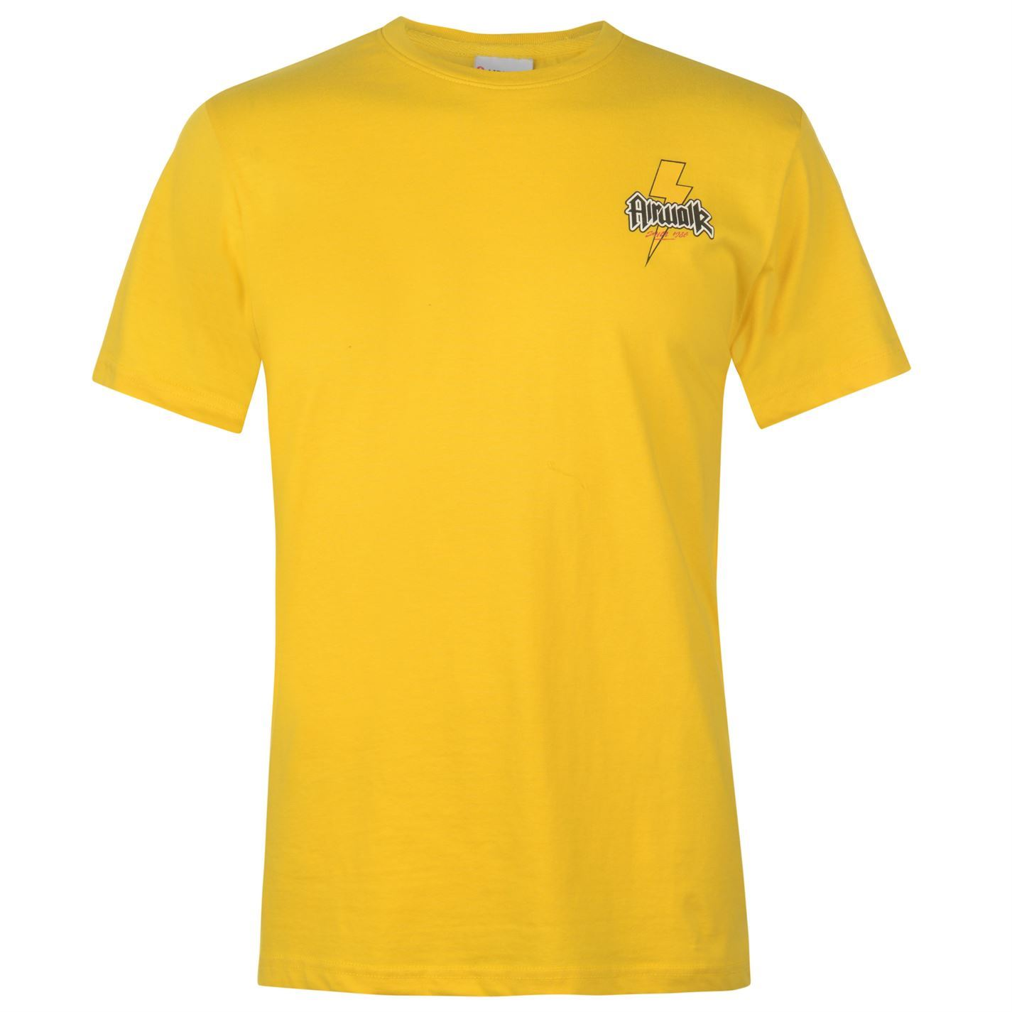 Airwalk Bolt Since 1986 Print T-Shirt Mens Skateboarding Top Tee White Small