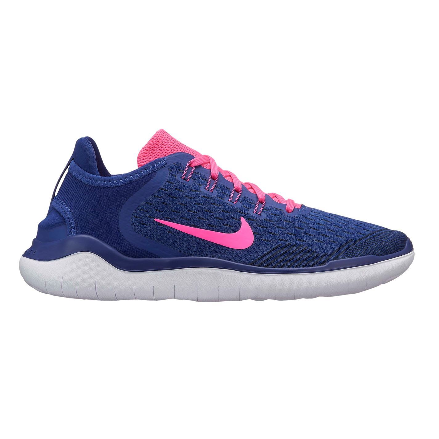 Details zu Nike Free RN 2018 Running Shoes Womens Blue Jogging Trainers Sneakers Fitness