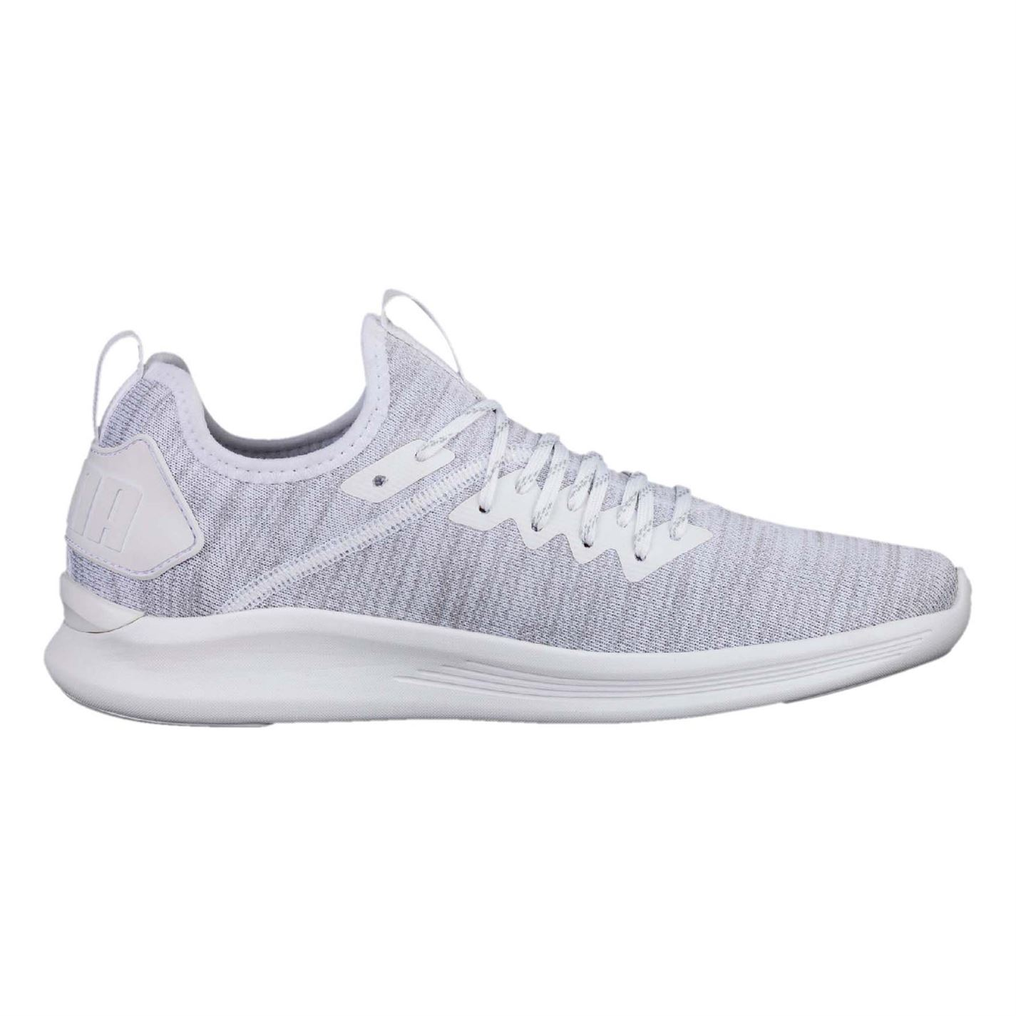 Puma Ignite Flash Trainers Mens White Athletic Sneakers Shoes