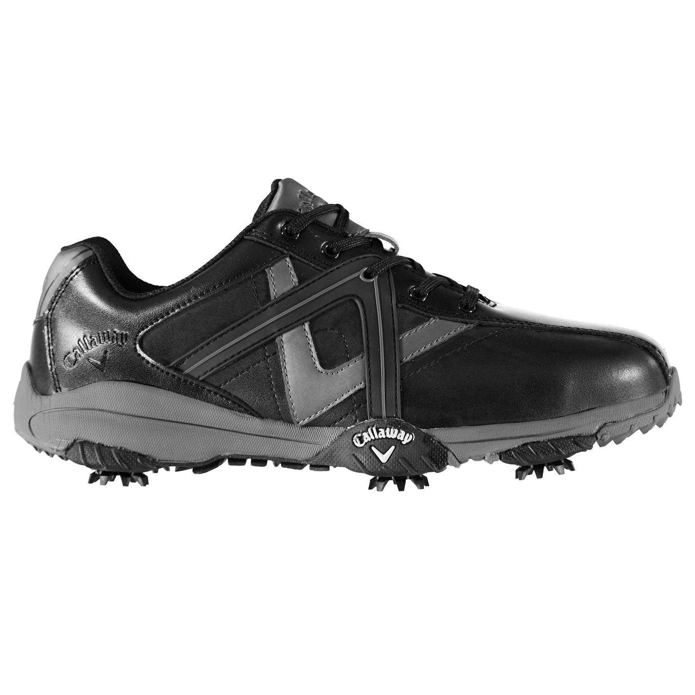 Callaway-Cheviot-ll-Golf-Shoes-Mens-Spikes-Footwear thumbnail 4