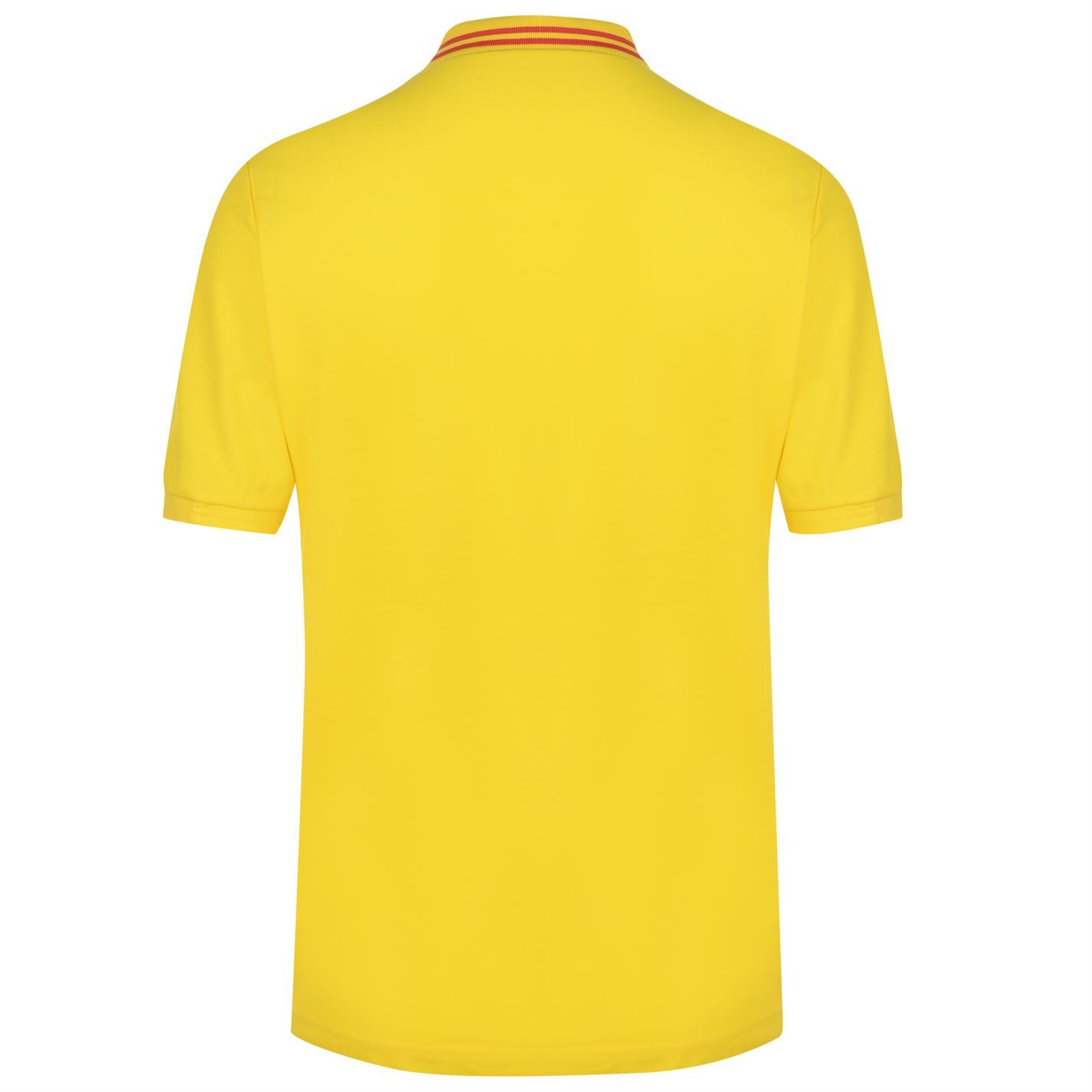 9155c273a ... FIFA World Cup 2018 Colombia Polo Shirt Mens Yellow Football Soccer Top  T-Shirt ...