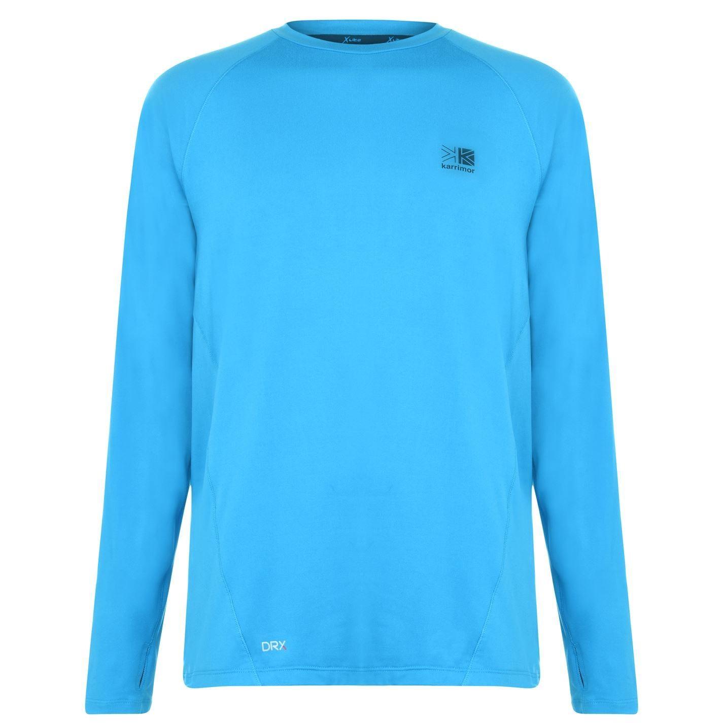 """Mens SLAZENGER Sky Navy Blue Logo V-Neck T-Shirt Small 38-40/"""" New"""
