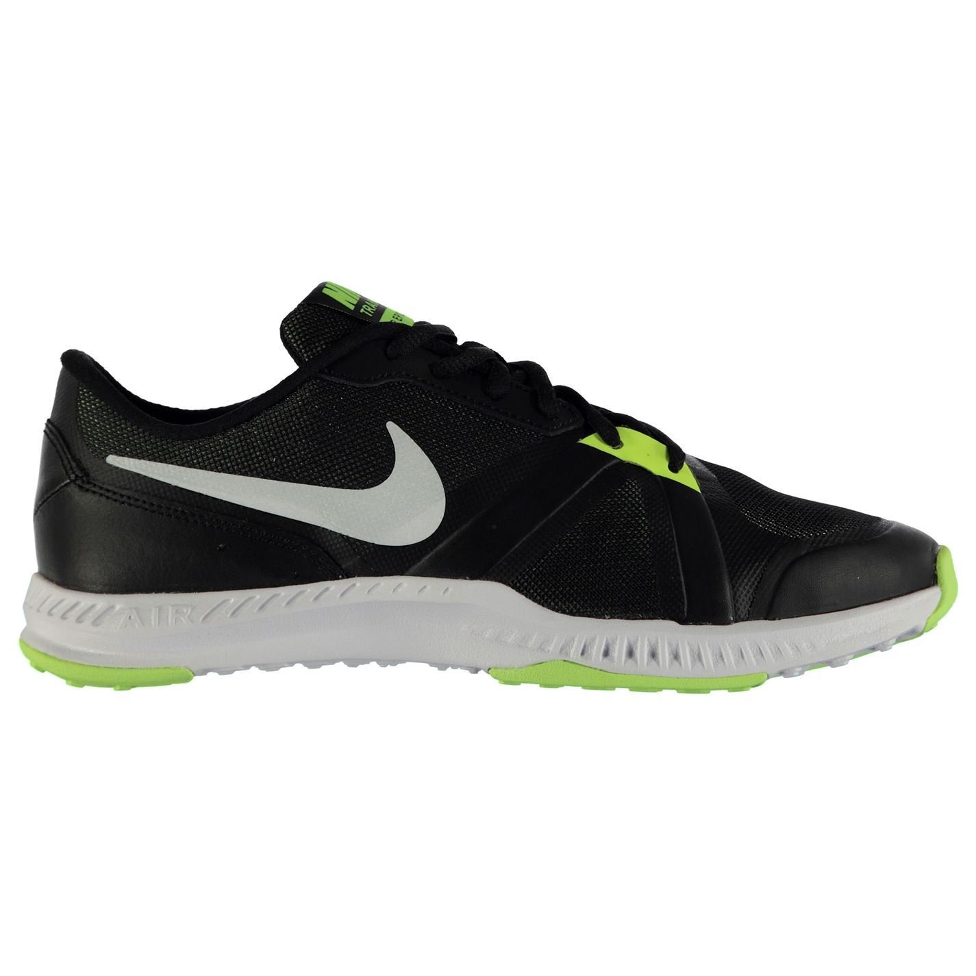 ... Nike Air Epic Speed Training Shoes Mens Black/White/Volt Gym Trainers  Sneakers ...