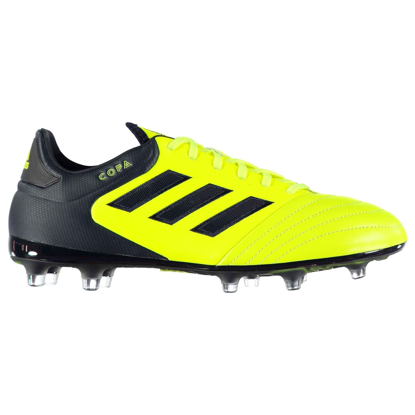 418106846 adidas Copa 17.2 FG Firm Ground Football Boots Mens Yellow Soccer Shoes  Cleats
