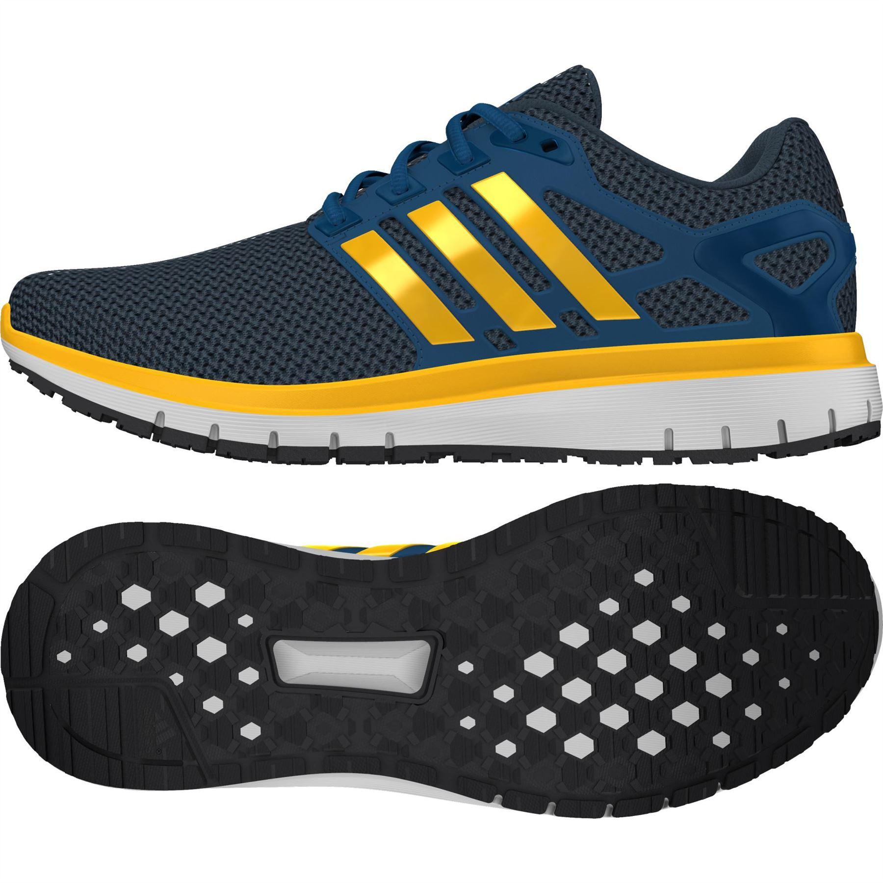 best service 50dfd 5a822 ... Adidas energía nube WTC zapatillas hombres azul amarillo Fitness zapatillas  zapatillas