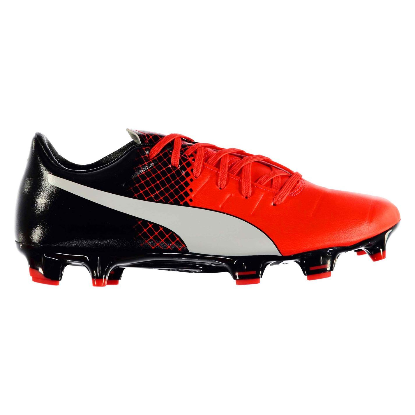 f4cd8929ea3b Puma Evo Power 3.3 FG Firm Ground Football Boots Mens Rd/Blk Soccer Cleats  Shoes
