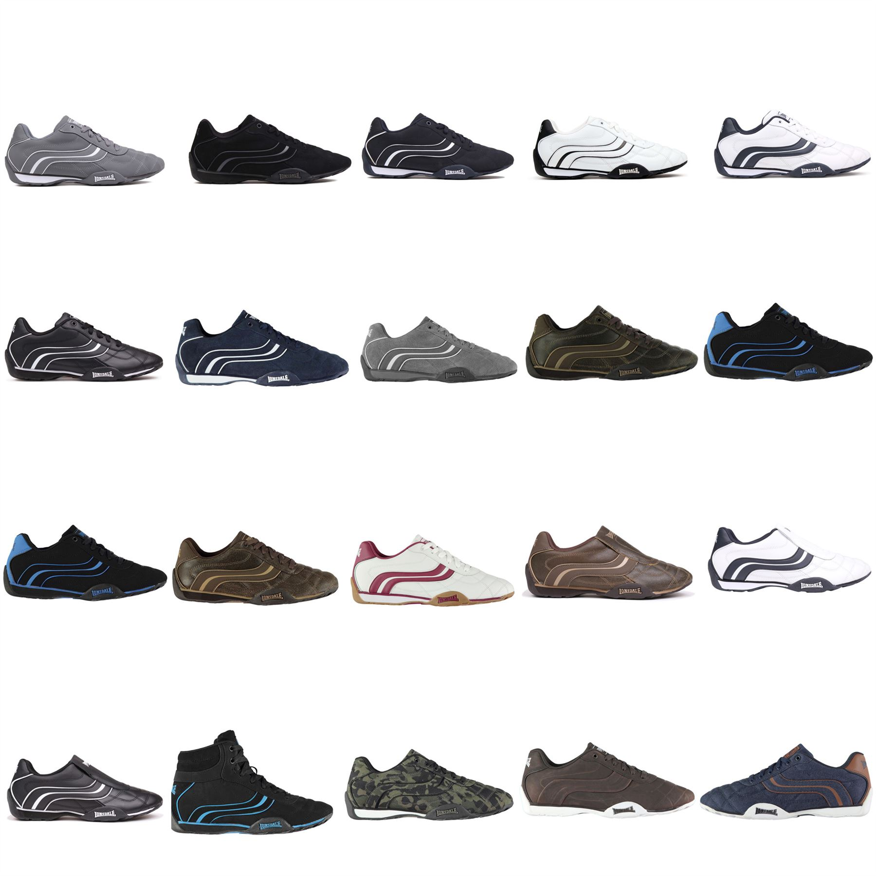 Details about Lonsdale Camden Trainers Mens Shoes Sneakers Footwear