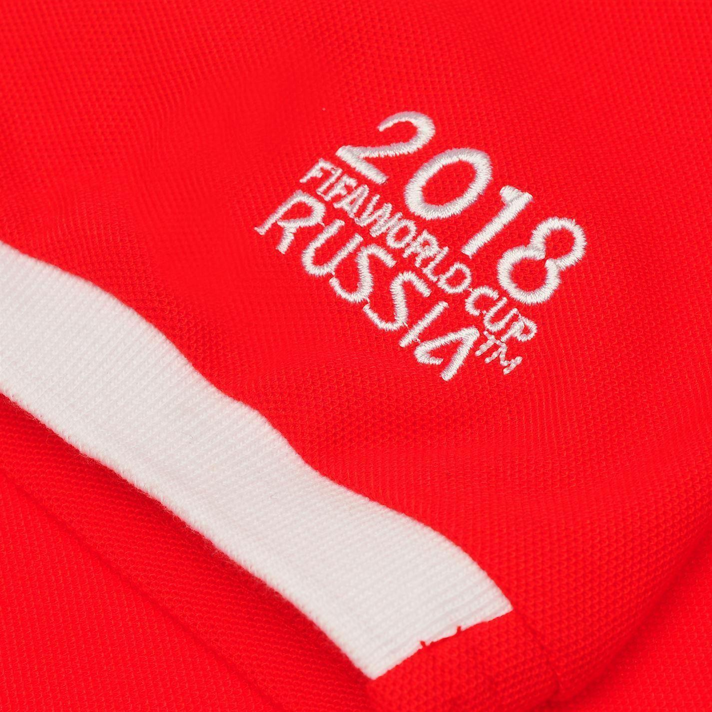miniature 6 - FIFA Coupe du monde 2018 Angleterre Polo Shirt Homme Football Soccer Top T-Shirt Tee