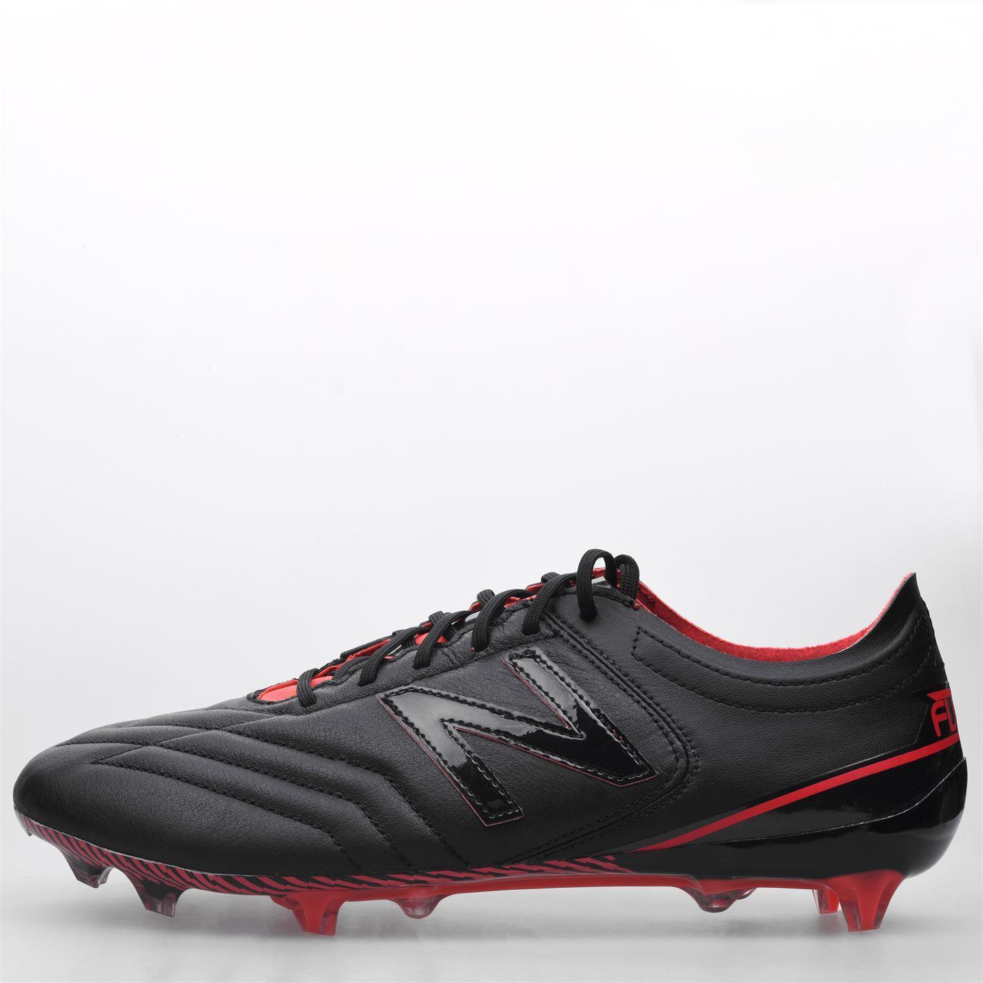 miniature 3 - New-Balance-Furon-3-0-K-cuir-homme-FG-Firm-Ground-Chaussures-De-Football-Soccer-Crampons