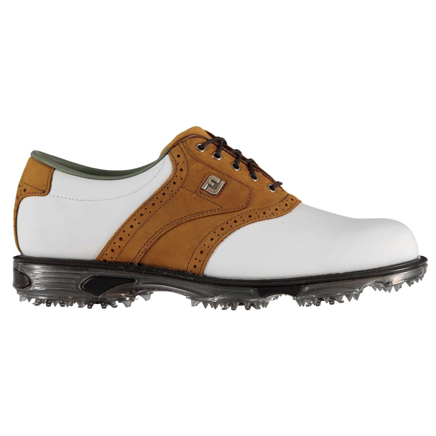 Footjoy-DryJoys-Tour-Golf-Shoes-Mens-Spikes-Footwear thumbnail 12